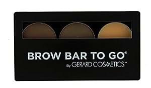Brow Bar to Go, Brush on Brow - Gerard Cosmetics, Medium to Ebony (Brunette)