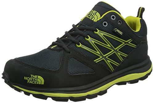 North Face - Scarpe da Trail Running uomo, colore multicolor (nero / verde), taglia 44