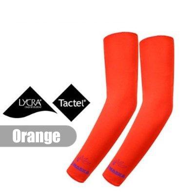 Buy Low Price 2 Pairs, Elixir NASKA COOLING ARM SKIN SLEEVES ARM COOLER, Orange, N3-O2P (B0057LYMVU)