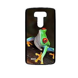 Vibhar printed case back cover for LG G4 NeonFrog