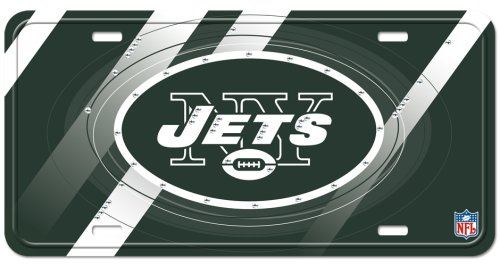 New York Jets Street Flair Plate at Amazon.com