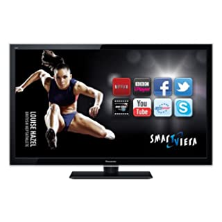 Panasonic TX-L42E5B 42-inch Widescreen Full HD 1080p Smart Internet LED TV with Freeview HD - Black (New for 2012)