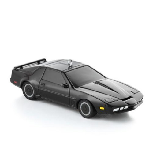 Hallmark Knight Rider Christmas Ornament Black Kitt Sports Car Lights & Sound