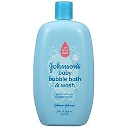 JOHNSONS Baby Bubble Bath & Wash