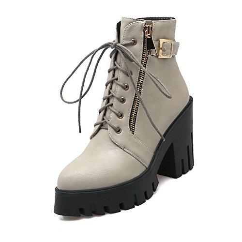 voguezone009-donna-cerniera-scarpe-a-punta-tacco-alto-bassa-altezza-stivali-grigio-34
