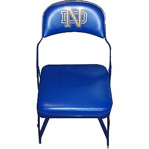 Steiner Sports NCAA Notre Dame Fighting Irish Game Used Locker Room Chair by Steiner Sports