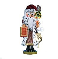 "Kurt Adler 17-1/2-Inch Limited Edition Steinbach Twelve Days of Christmas Musical ""Pear Tree Santa"" Nutcracker by Steinbach Nutcrackers"