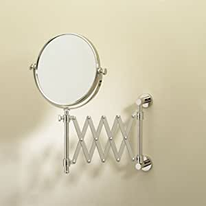 Innovative Square 5x Magnifying Wall Mirror  Vanity Mirrors  Splashdirect
