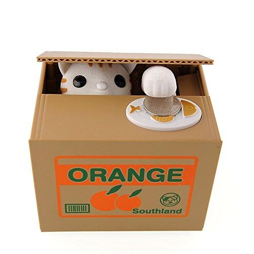 cute-itazura-stealing-money-piggy-bank-animal-saving-box-multi-choice-usa-seller-kittens-orange