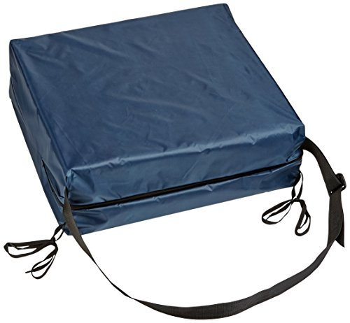 Hip Cushion with Navy Rip-Stop Cover and Ties (Seat Riser Cushion compare prices)