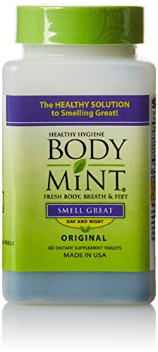BodyMint, 60 Count Bottle