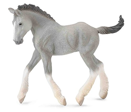 CollectA Shire Horse Foal, Grey