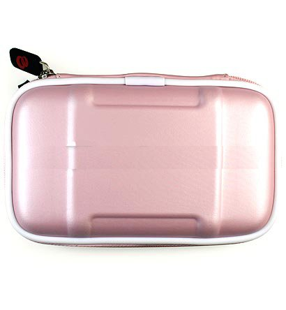 Nintendo Ds Lite 5 in 1 Combo Nintendo Lite Ds Case + Car Charger for NDS Lite + Travel Charger for Nintendo Ds Lite + Screen Protector for Ds Lite (Baby Pink) + Nintendo DS Lite Stylus