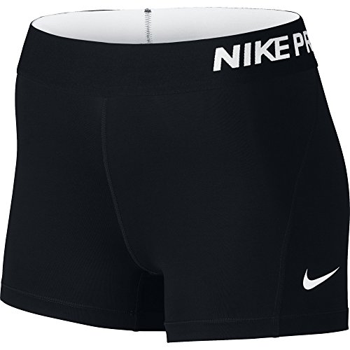 nike-womens-pro-3-cool-compression-training-short-black-white-x-small