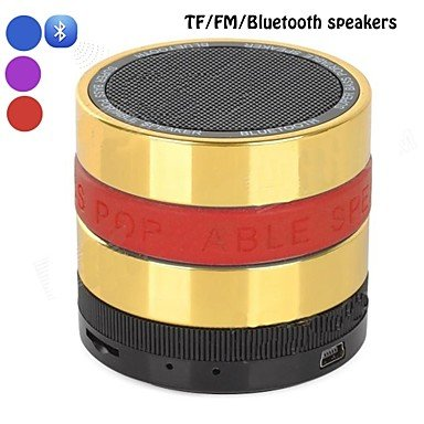 Zclportable Bluetooth V3.0 Super Bass Speaker / Tf Mp3 / Aux / Handsfree