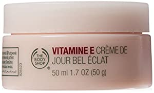 The Body Shop Vitamin E Illuminating Moisture Cream, 1.7-Fluid Ounce