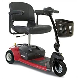 Go Go Ultra X 3-Wheel Travel Scooter Color: Red from Pride Mobility