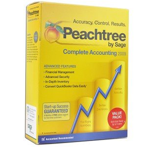 Sage Peachtree Complete Accounting 2009 Software