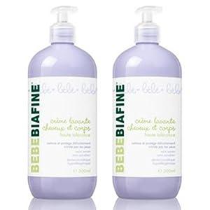 Crème lavante dont 1 offerte 2*500 ml marca Bebe biafine - BebeHogar.com