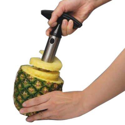 IDS Easy Tool Stainless Steel Fruit Pineapple Corer Slicer Peeler Cut