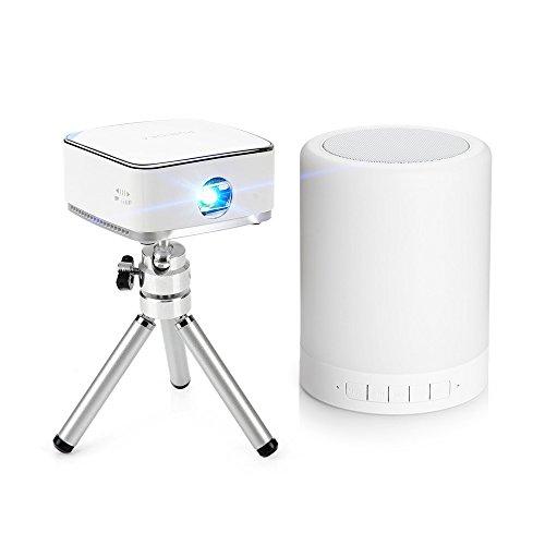 lightwish-mini-portable-wireless-dlp-projector-with-mini-tripod-remote-night-light-bluetooth-speaker