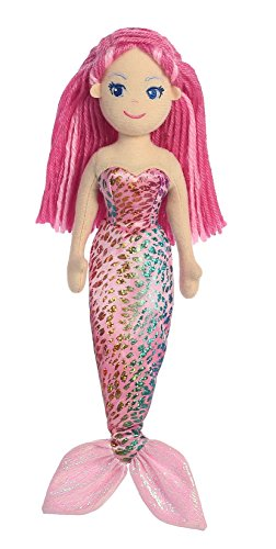 Aurora World Sea Sparkles Maryn Mermaid Plush