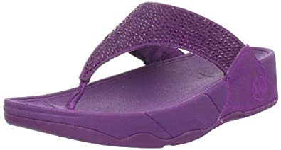 FitFlop Women's Rokkit Flip Flop,Cosmic Purple,8 M US