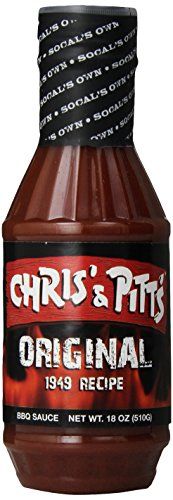 """Chris And Pitts """"Original Recipe 1949"""" Rare Barbecue BBQ Sauce Limited Supply 18Oz"""