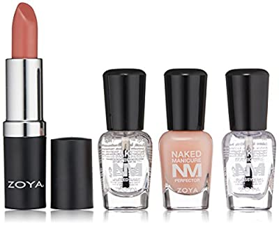 ZOYA Nail Polish, Naked Manicure Lips & Tips Perfecting Quad, 1 fl. oz.