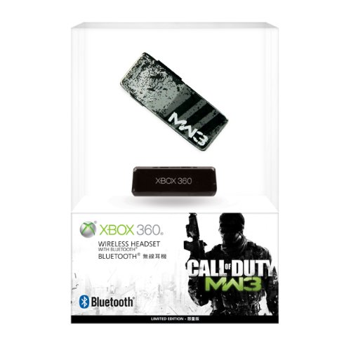 Xbox 360 Call of Duty: Modern Warfare 3 Wireless Headset with Bluetooth (Custom Xbox 360 Headset compare prices)