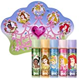 Disney Princess Lip Smacker Lip Collection in a Crown Tin