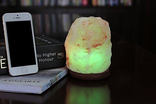 Wbm himalayan glow hand carved natural crystal himalayan for Wbm 7 tall himalayan natural crystal salt lamp