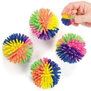 36 Multicolor Porcupine Balls