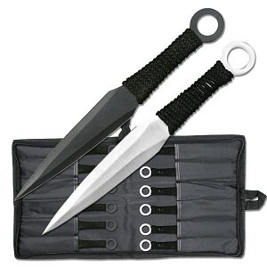 Bladesusa Rc-086-12 Throwing Knife Set 8.5-Inch Overall