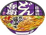 日清のどん兵衛 焼うどん だし醤油味 1ケース(12食入)