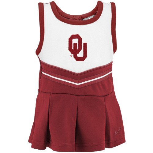 Oklahoma Sooners Nike Cheerleader Dress with Bloomers