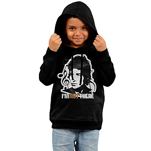 bcz-kids-hoodies-bob-not-there-casual-sportswear-5-6-toddler-black