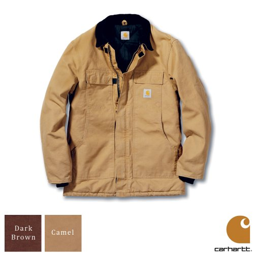 Carhartt Workwear Sandstone Traditional Mens Coat Camel Small
