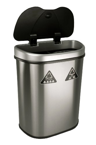 Nine Stars Trash Can Recycler Infrared Touchless
