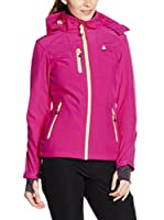 Peak Mountain Chaqueta Soft Shell Acofel (Fucsia)