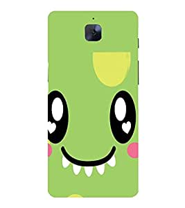 CUTE SMILY Designer Back Case Cover for One Plus Three