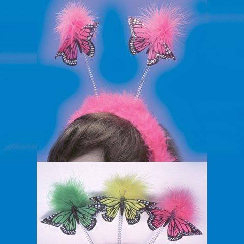 Butterfly Feather Boppers (1 per package) - 1