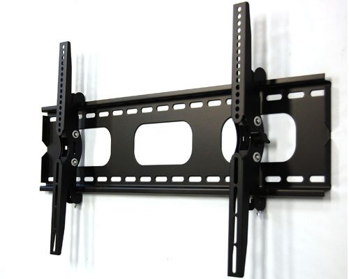 "Ez Mounts - 32""-60"" Heavy Duty Tilting Wall Mount Holds Up To 160Lbs W/ 15 Degree Tilt Up And Down Fits Samsung, Sharp, Sony, Panasonic, Vizio, Lg, Tlc, All Brands With Vesa Standad 600 X 400, 400 X 400, 400 X 200, 300 X 300, 300 X 200 200 X 200"
