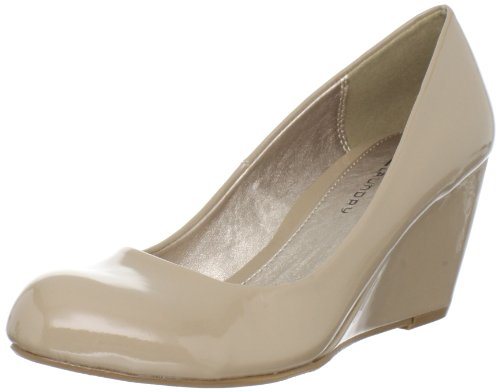 CL by Chinese Laundry Women's Nima Wedge Pump, Nude Patent, 8.5 M US