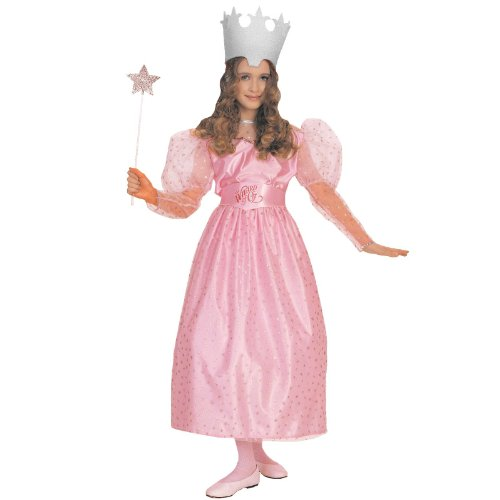 Wizard Of Oz Child'S Glinda Costume, Large front-1017793