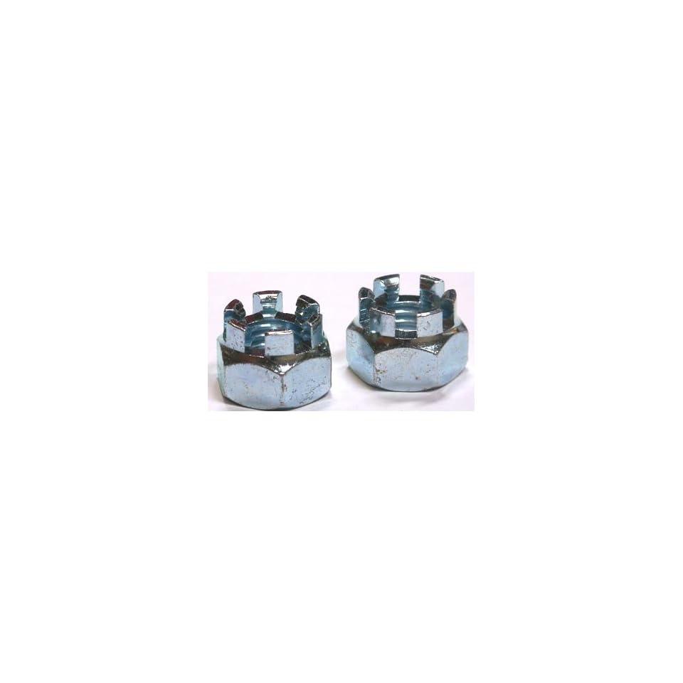 Hex Panel Nuts // Steel // Zinc // 2,000 Pc Carton 1//2 A//F 1//8-27 X 1//8