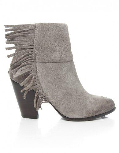Ash Shoes Quick Calf Suede Boots STNE