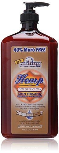 Malibu Hemp Golden Glow Skin Firming Bronzing Moisturizer 25.4oz