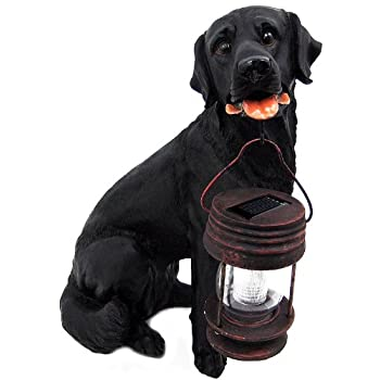Set A Shopping Price Drop Alert For Black Labrador Retriever Solar Garden Light Dog Lab