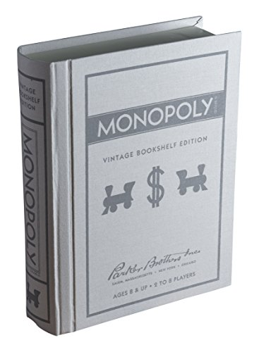Monopoly Linen Book Vintage Edition Board Game (Monopoly Vintage compare prices)
